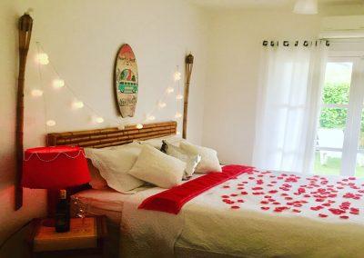 Lua de mel com suite romantica na Pousada Moa Guaruja