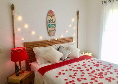 Lua de mel suite romântica na Pousada Moa