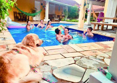 Um Lugar para Curtir com a Familia e Amigos - Moa Pousada Guarujá