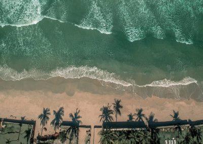 Vista Aerea da Praia do Pernambuco Guarujá