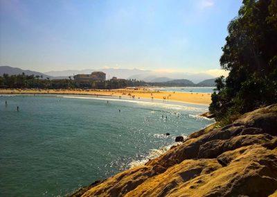 Vista da Praia do Mar Casado no Guarujá
